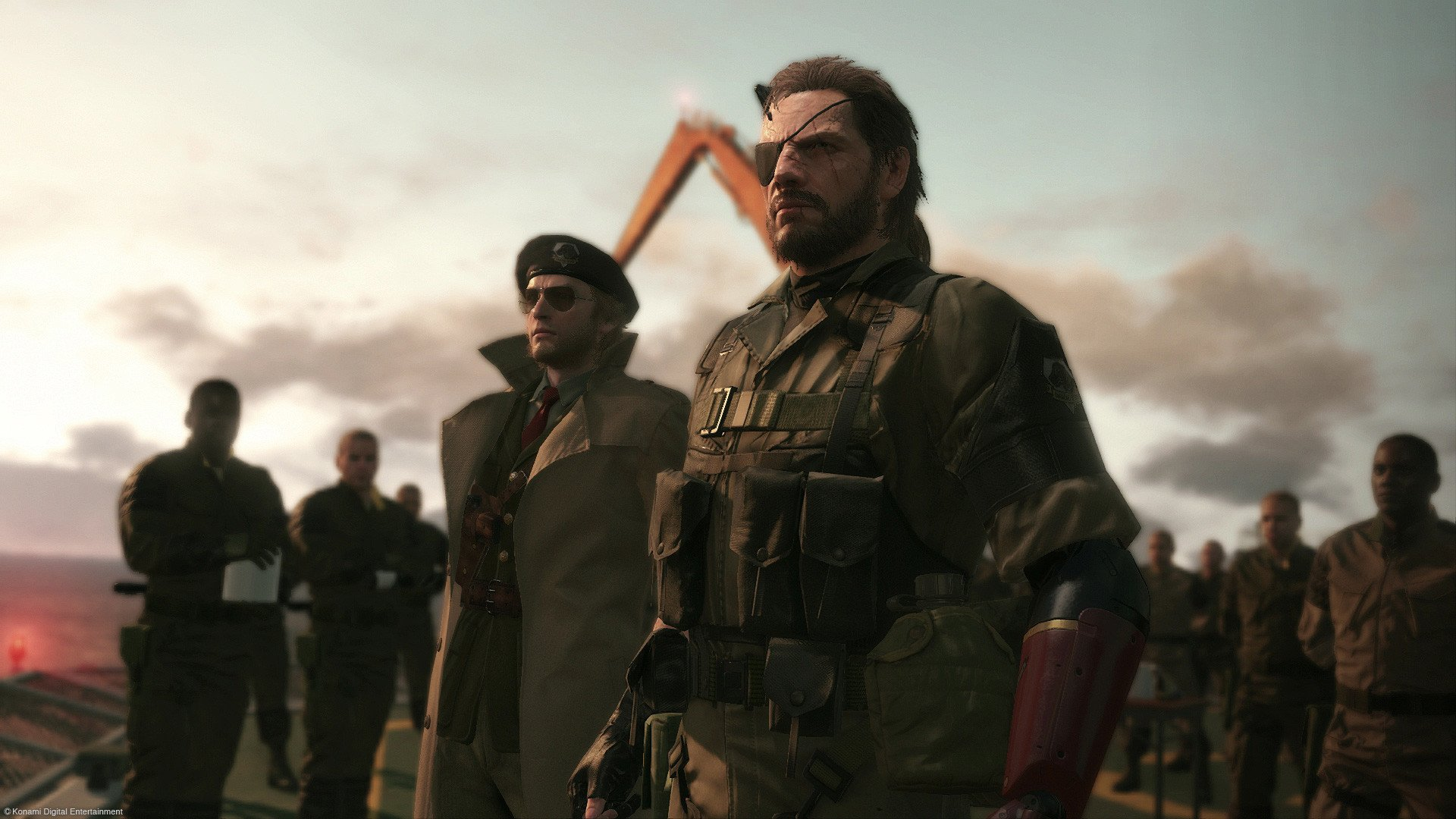 Punished Snake looking on as Konami rakes in cash